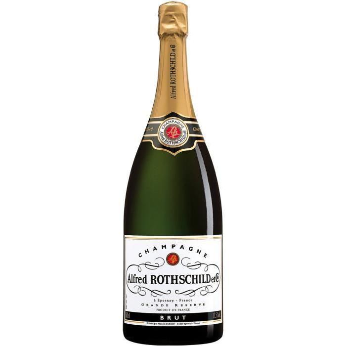ROTSCHILD Champagne brut - Blanc - 75 cl 12,5 %