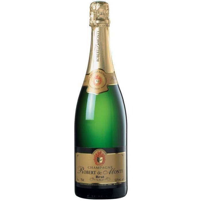 ROBERT DE MONTY Champagne brut - 75 cl