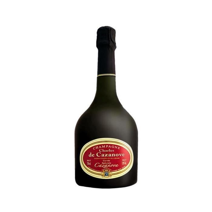 CHAMPAGNE CHARLES DE CAZANOVA cuvée spéciale Cazanova - Brut - 75 cl