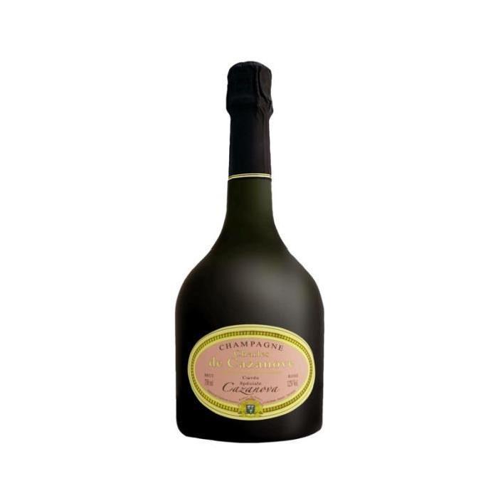 CHAMPAGNE CHARLES DE CAZANOVA cuvée spéciale Cazanova - Réserve - 75 cl