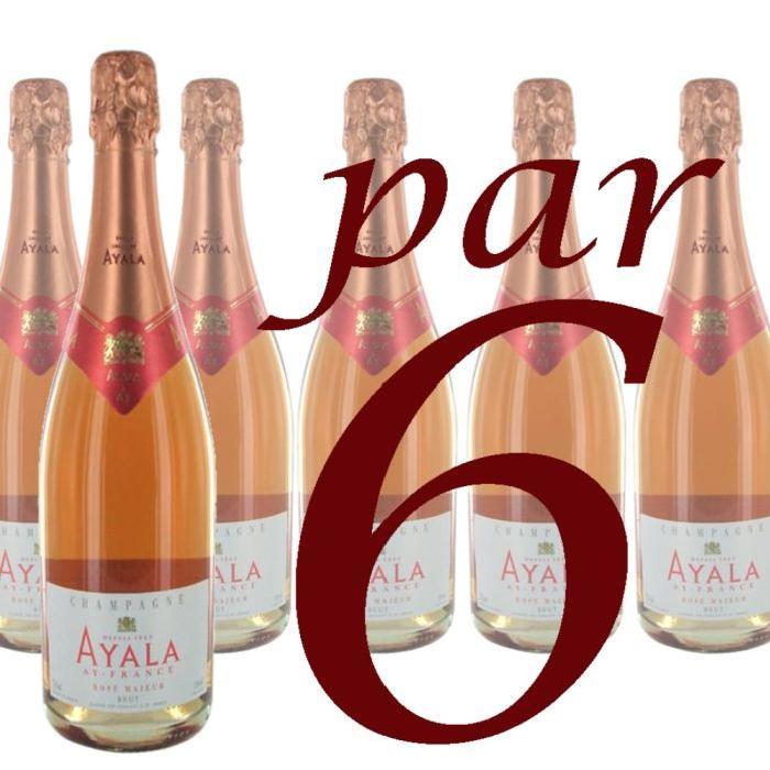 Champagne Ayala Rosé x6