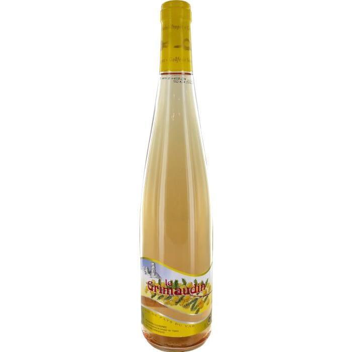 Grimaudin Var Vin de la Vallée du Rhône - Rosé - 75 cl