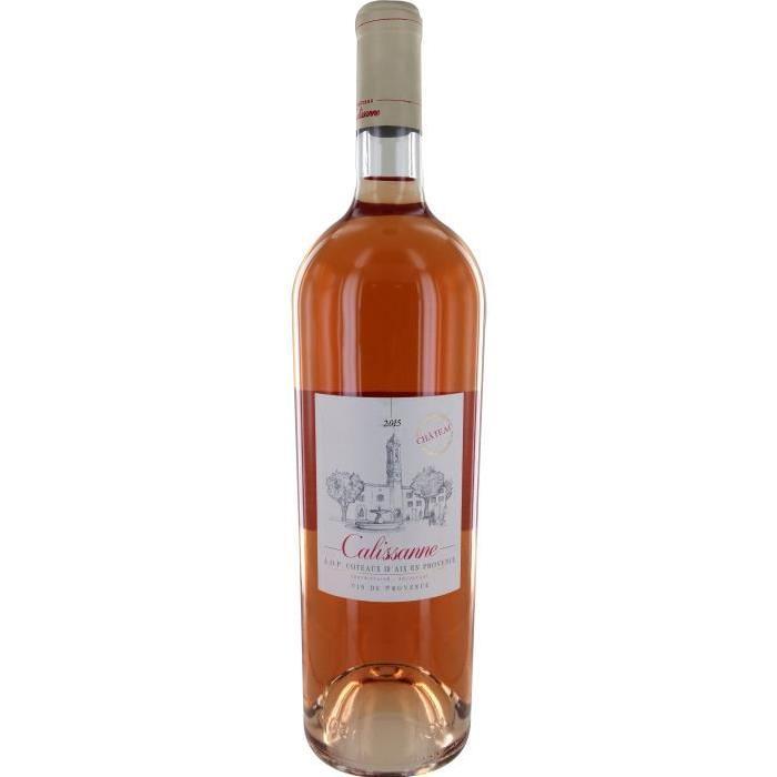 Calissanne Vin d'Aix en Provence - Rosé - 1,5 L