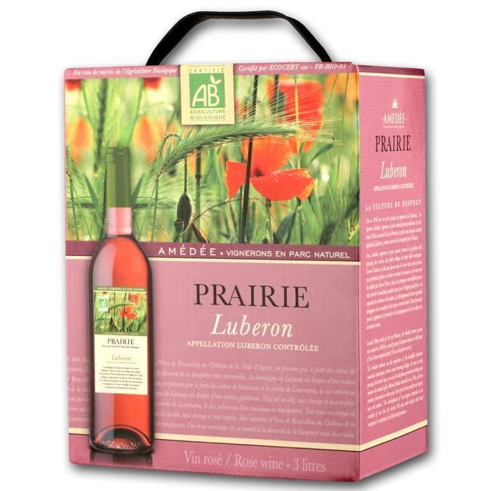Prairie Luberon rosé BIB 3L