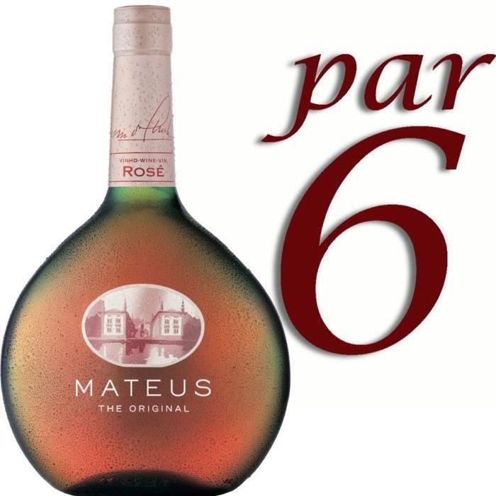 Mateus Vin Portugal Rosé 75 cl. x6