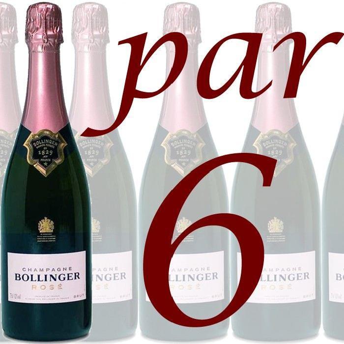 Bollinger Rosé x6