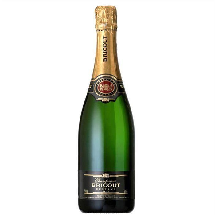 Champagne Bricout Brut Réserve x1