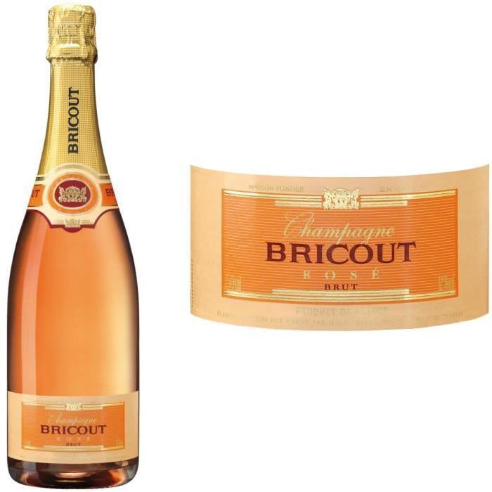 Champagne Bricout Rosé x1