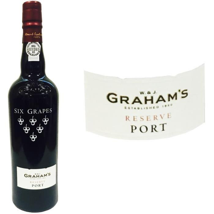 Graham's 6 Grapes Reserve 0.75L 20%