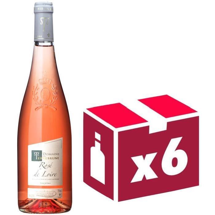 Domaine de Terrebrune Rosé de Loire Val de Loire 2016 - Vin rosé