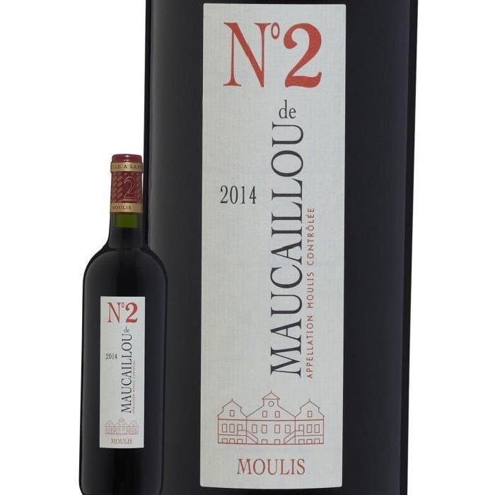 CHÂTEAU MAUCAILLOU MOULIS 2014 Numéro 2 Vin de Bordeaux - Rouge - 75 cl