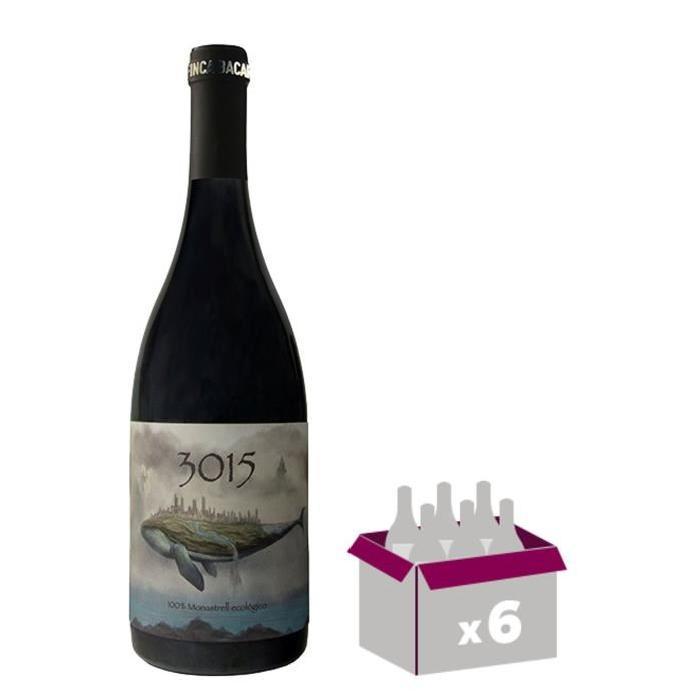3015 Jumilia Vin d'Espagne - Rouge - 75 cl - Bio x 6