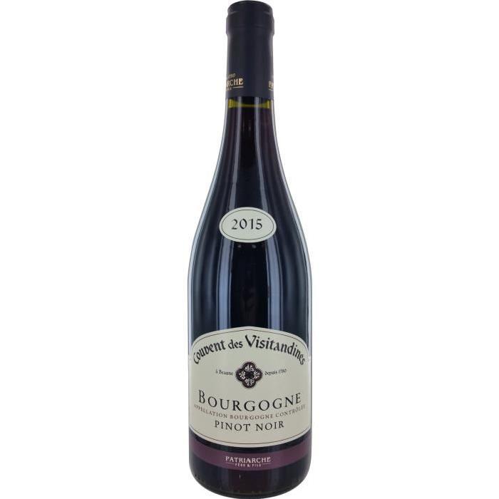 Couvent des Visitandines Pinot noir Vin de Bourgogne - Rouge - 75 cl