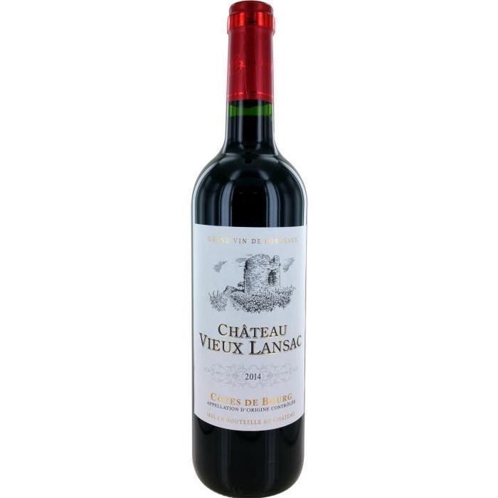 Château Vieux Lansac Vin de Bordeaux - Rouge - 75 cl