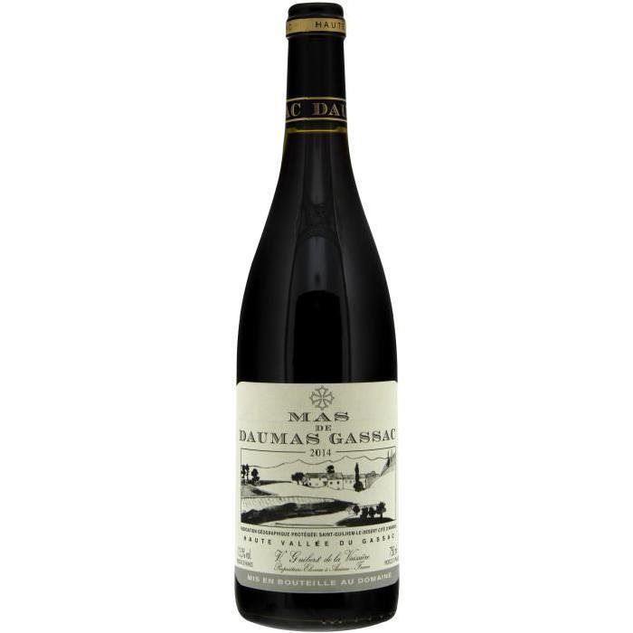 MAS DAUMAS Gassac Vin de PAys de L'Hérault - Rouge -75 cl