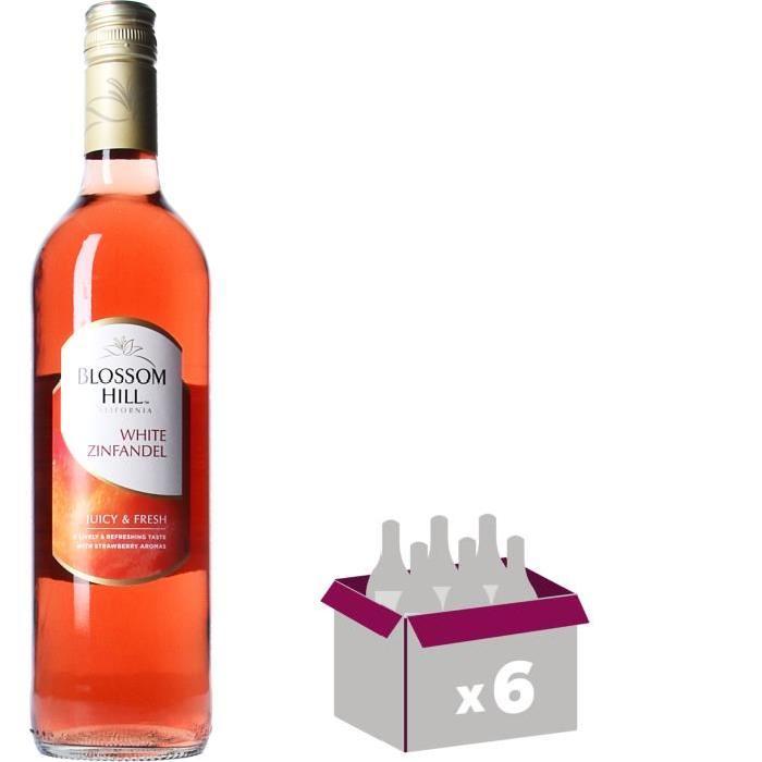 NOTTAGE HILL White Zinfandel Vin de Californie - Rosé - 75 cl x 6