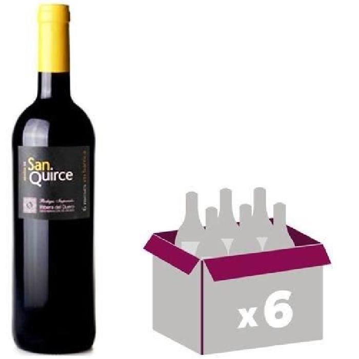 ABADIA SAN QUIERCE 2015 2015 Ribera Del Duero Vin Espagnol - Rouge - 75 cl - DO x 6