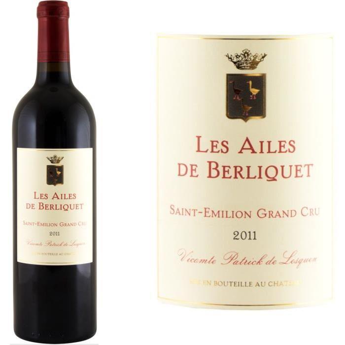 Les Ailes de Berliquet Grand Cru Second Vin de ...