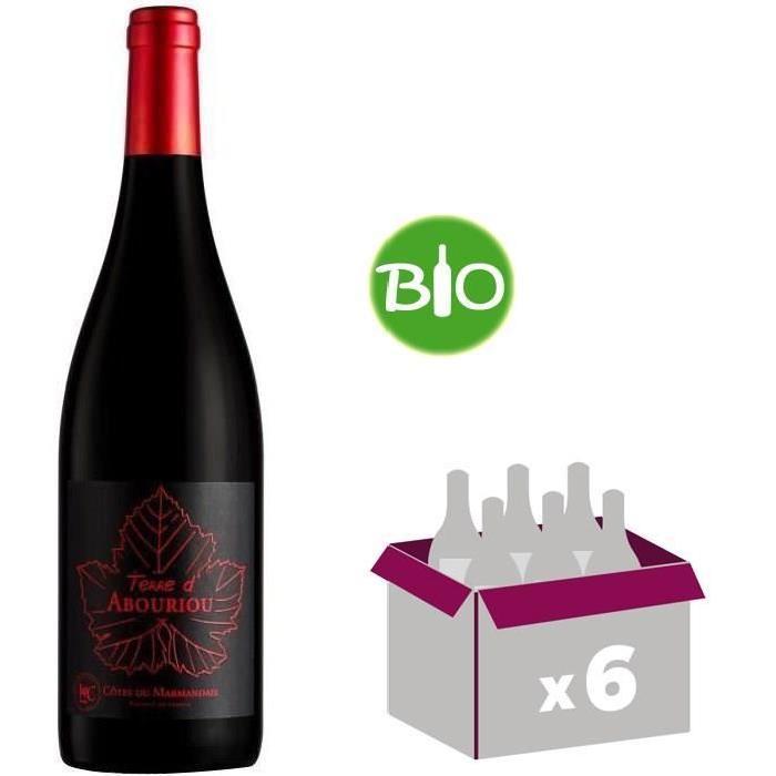 Terre d'Abouriou AOC Côtes du Marmandai Bio 2015 - Vin rouge