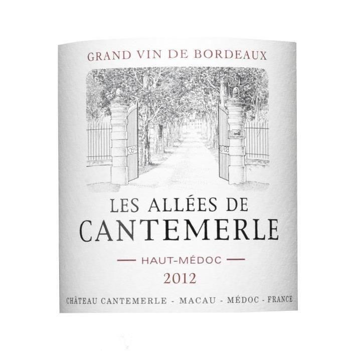 Allées de Cantemerle - Haut Médoc - Second Vin ...