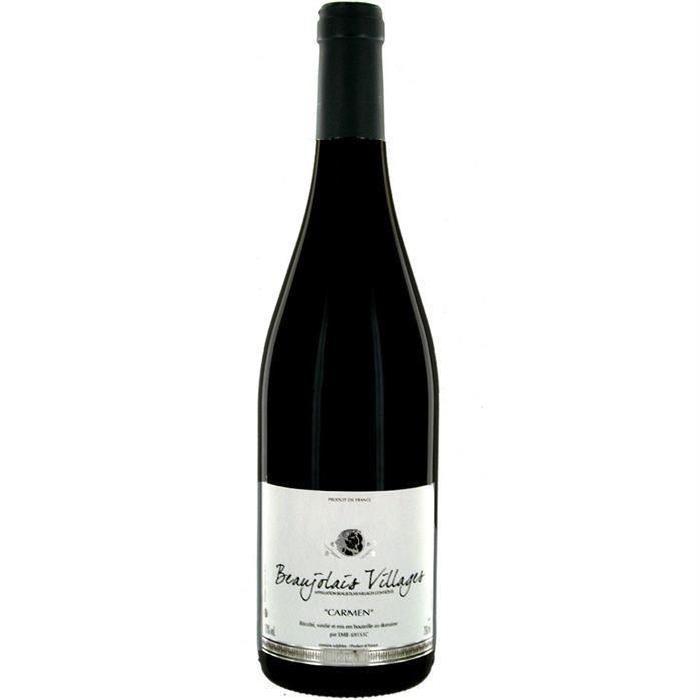DOMAINE DE ROCHEMURE 2016 Beaujolais Villages Vin de Bourgogne - Rouge - 75 cl