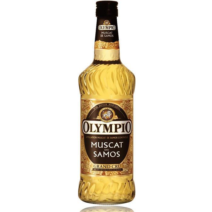 OLYMPIO Muscat de Samos 15,5° 75cl (x1)