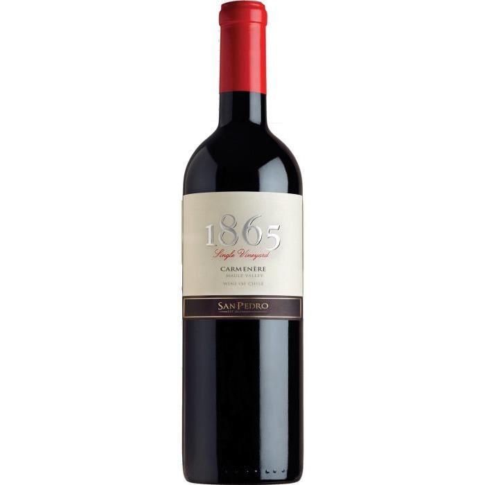 1865 Carmenere 2014 Vin du Chili - Rouge - 75 cl