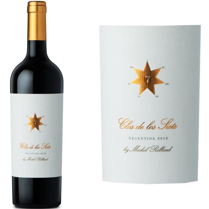 Clos de los Siete 2014 Mendoza Argentine vin ro...